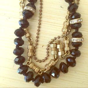 J. Crew Sparkly Necklace